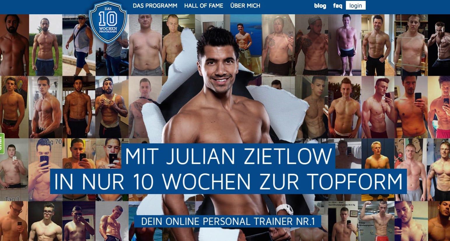 Photo of 10 Wochen Programm von Julian Zietlow Erfahrungen und Ernährungsplan