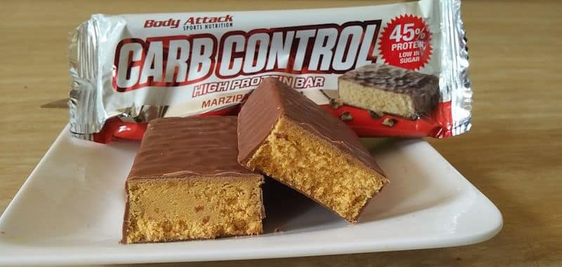 Body Attack Carb Control High Protein Bar Test