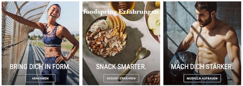 Foodspring Erfahrungen