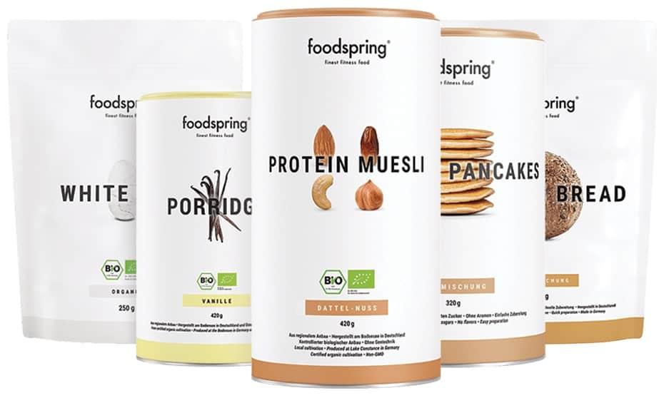 Das Foodspring-Frühstückspaket - lecker und günstig
