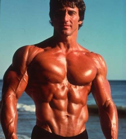 Frank Zane als Bodybuilder