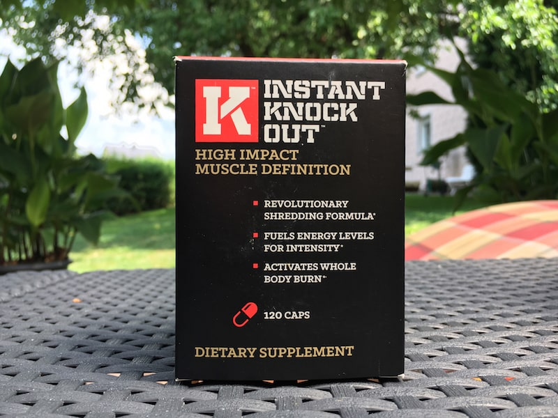 Instant Knockout Verpackung