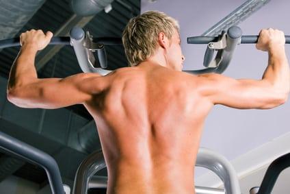 Muskelaufbau durch Klimmzüge