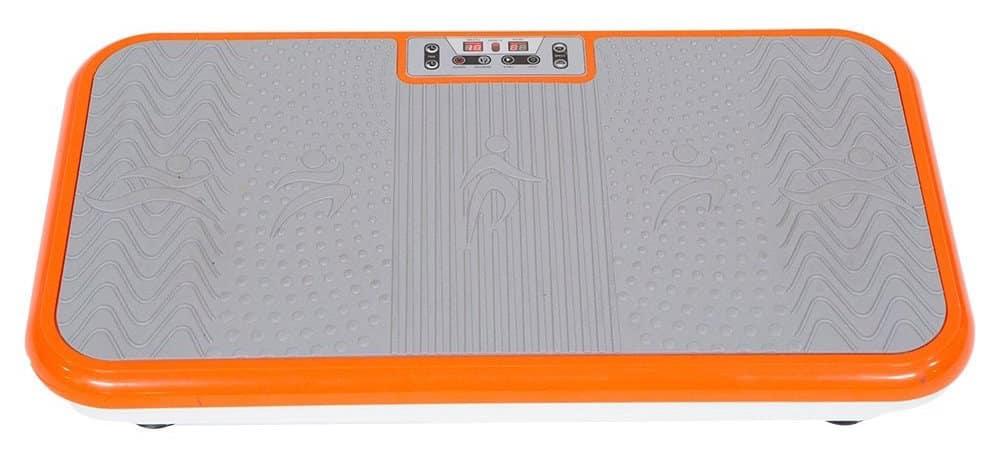 Die Vibro Shaper Vibrationsplatte sorgt für guten Stand bei den Übungen