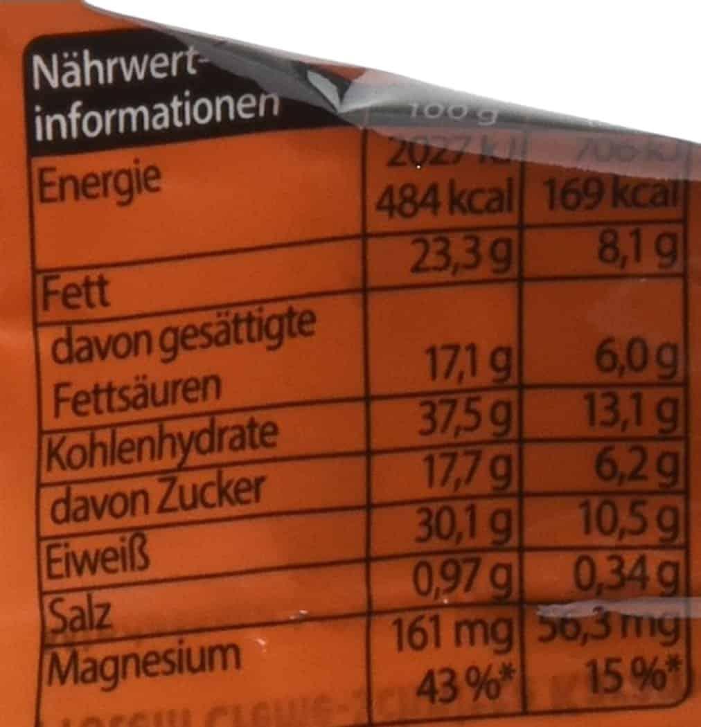 corny sport proteinreigel naehrwerte und Test