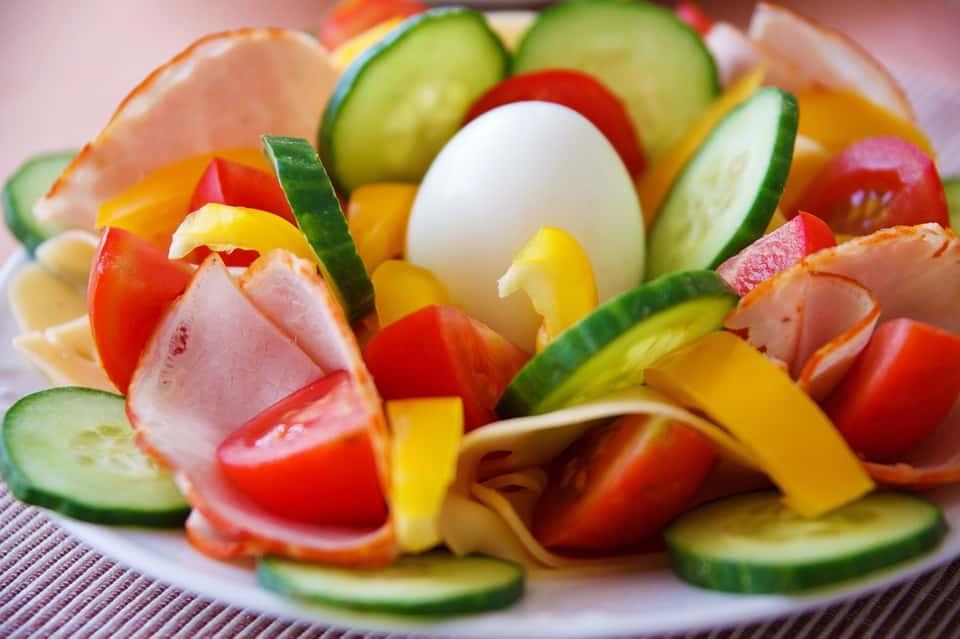 salat als ballaststoffarme kost